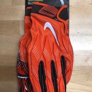 Nike Superbad Cleveland Browns Football WR Gloves